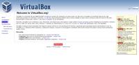 Официальный сайт VirtualBox