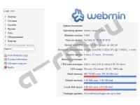 webmin web interface