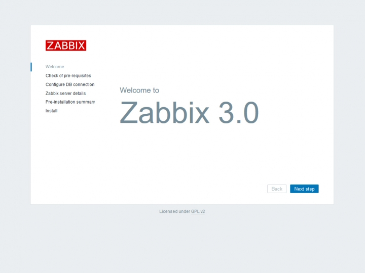 Welcome to Zabbix 3.0