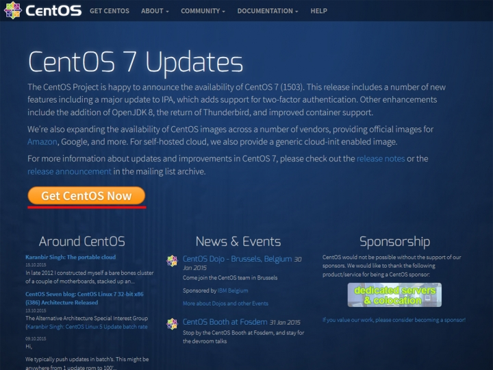 centos.org