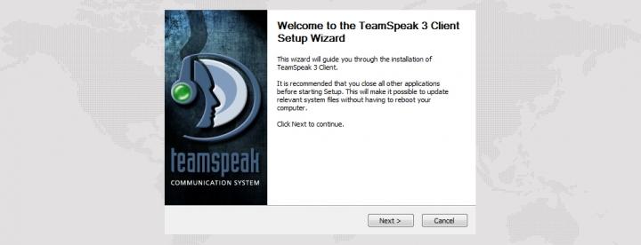 Программа установки TeamSpeak 3 клиент