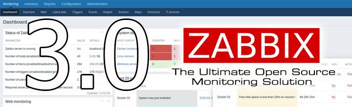 Zabbix 3.0 install